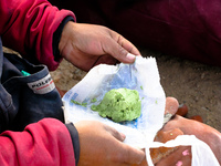 green tea ice-cream dynamite Potosi, Potosi Department, Bolivia, South America