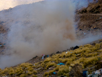 dynamite explosion Potosi, Potosi Department, Bolivia, South America