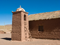 church at viscachillapampa Tupiza, Potosi Department, Bolivia, South America