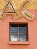 ac window Sucre, Santa Cruz Department, Bolivia, South America