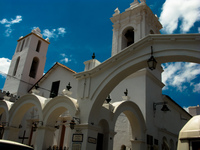 san francisco church Sucre, Santa Cruz Department, Bolivia, South America