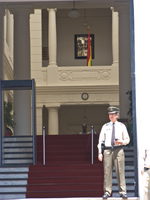 supreme court guard Sucre, Santa Cruz Department, Bolivia, South America