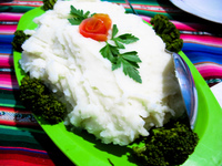 food--broccoli in salar tour Tupiza, Potosi Department, Bolivia, South America
