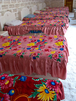 hotel--beds for seven dwarfs Salar de Uyuni, Potosi Department, Bolivia, South America