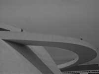 view--saturn ring of national museum Brasilia, Goias (GO), Brazil, South America