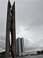 mounment Brasilia, Goias (GO), Brazil, South America