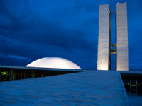 house of senate Brasilia, Goias (GO), Brazil, South America