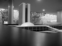 national congress model Brasilia, Goias (GO), Brazil, South America