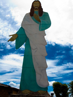 jesus christ in valley of dawn Brasilia, Goias (GO), Brazil, South America