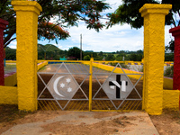 gateway to holy temple Brasilia, Goias (GO), Brazil, South America