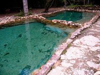 hot spring Sao Jorge, Goias (GO), Brazil, South America