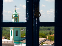 croumba church from hotel Corumba, Mato Grosso do Sul (MS), Brazil, South America