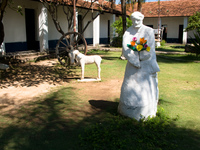 statue of st francis Corumba, Mato Grosso do Sul (MS), Brazil, South America