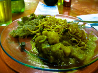 food--dinner at restaurante da nenzinha Brasilia, Alto Paraiso, Sao Gorge, Goias (GO), Brazil, South America