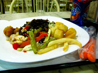 food--yamas buffet at food court Sao Jorge, Brasilia, Goias (GO), Brazil, South America