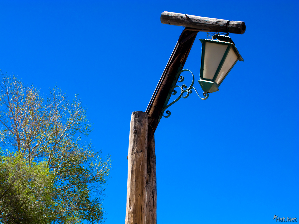 view--lamp post in humahuaca