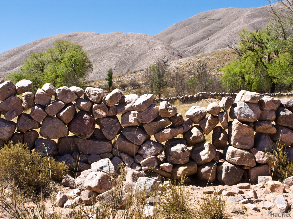 stone wall of coctaca
