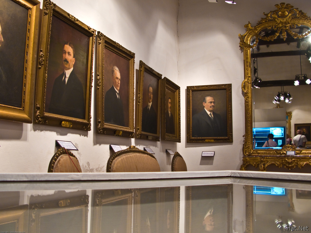 protraits of argentina presidents