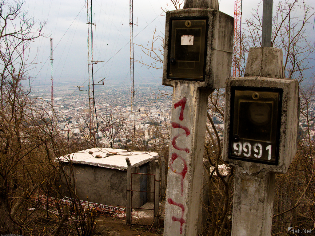 mount san bernardo eletric box