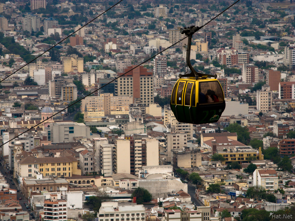 view--cerro san bernardo cable car