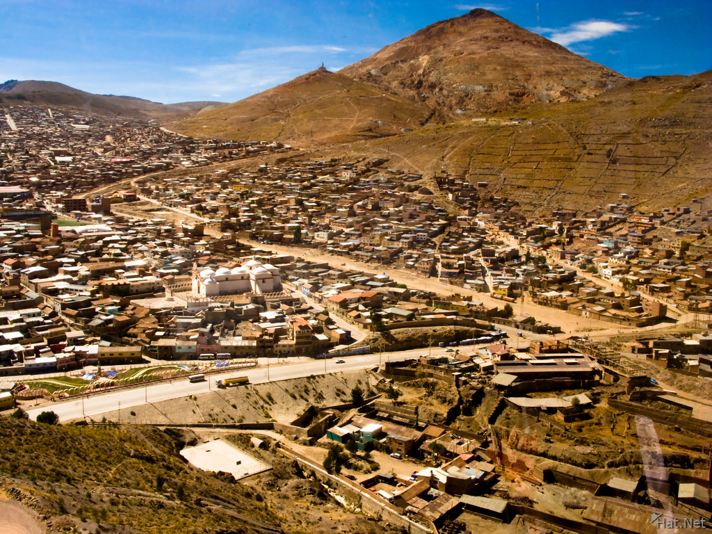 potosi city under mount cerro