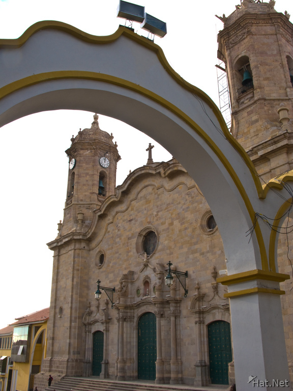 arch near potosi catedral