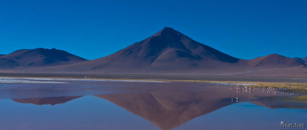 mountain of laguna colorada