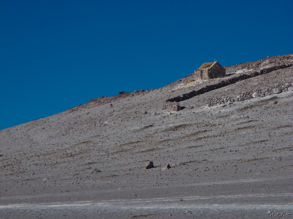 hill of laguna colorada