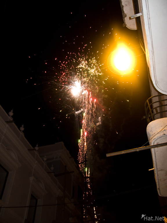 sucre fireworks