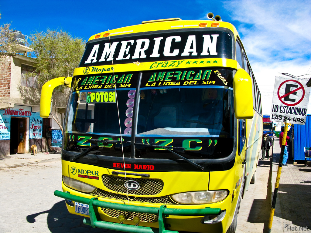 transport--trans america bus to potosi from uyuni