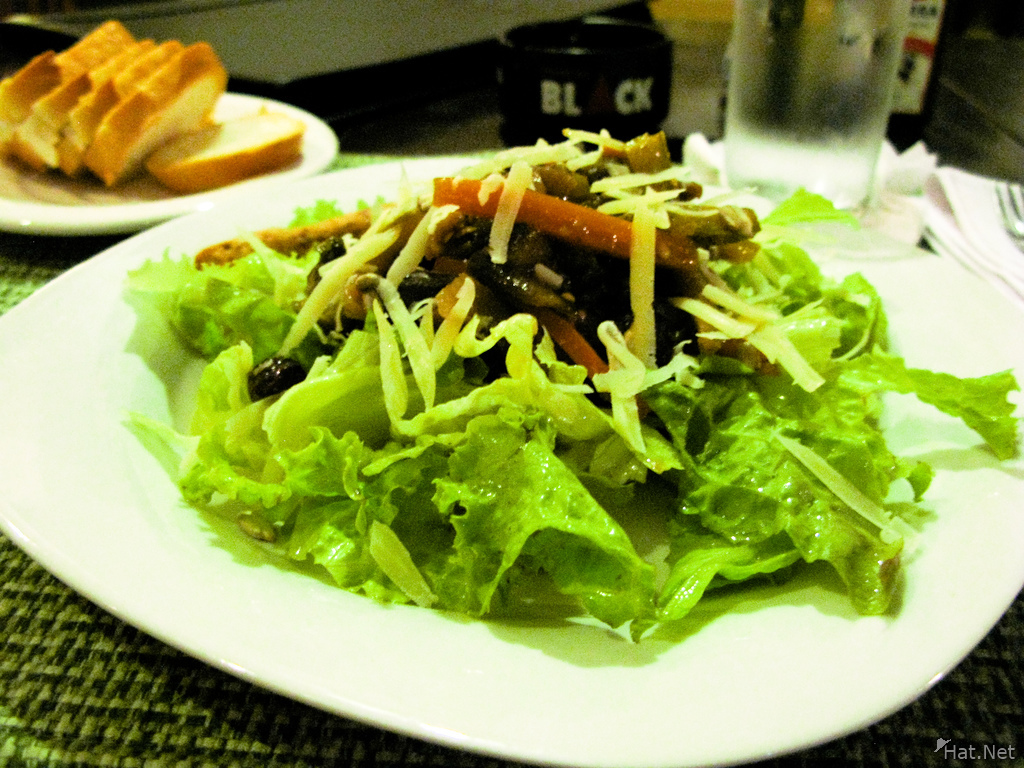 food--salad at lorco santa cruz