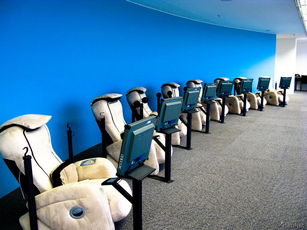 biblioteca national de brasilia massage chairs