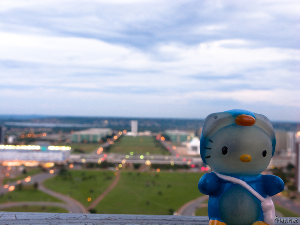 hello kitty in brasilia