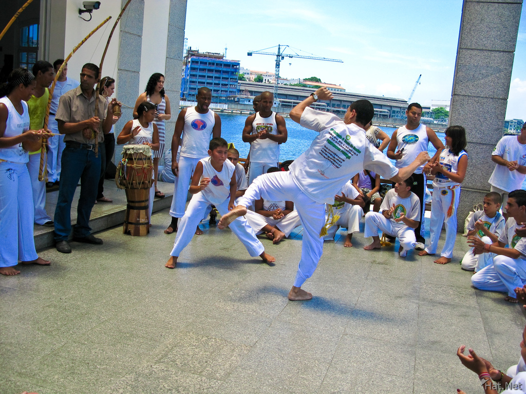 capoeira demonstration