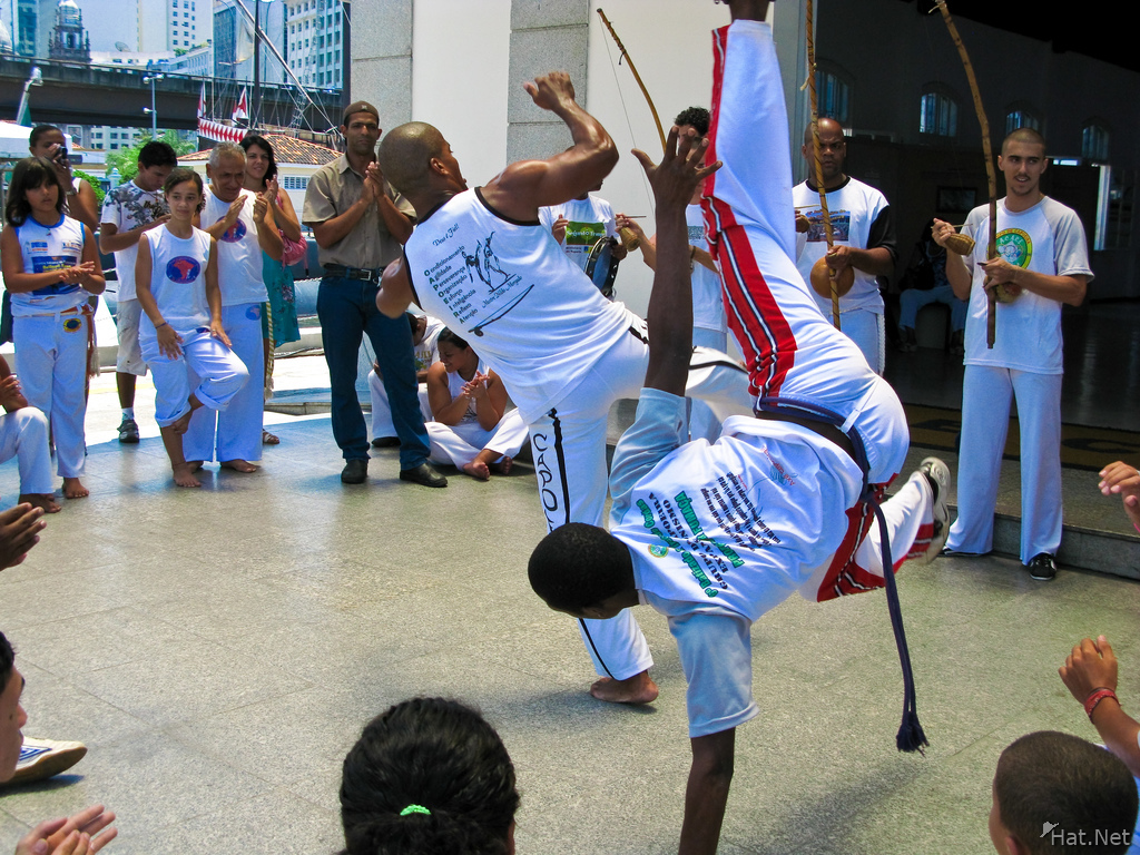 capoeira teacher