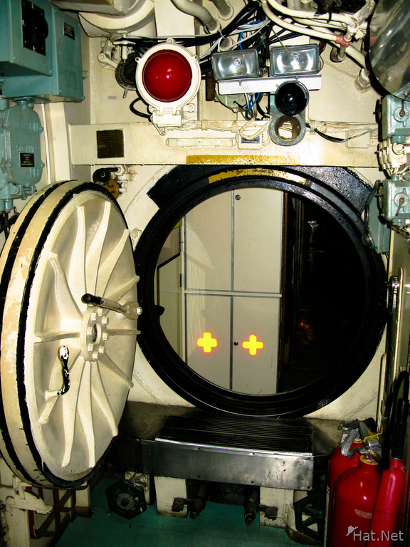submarine door