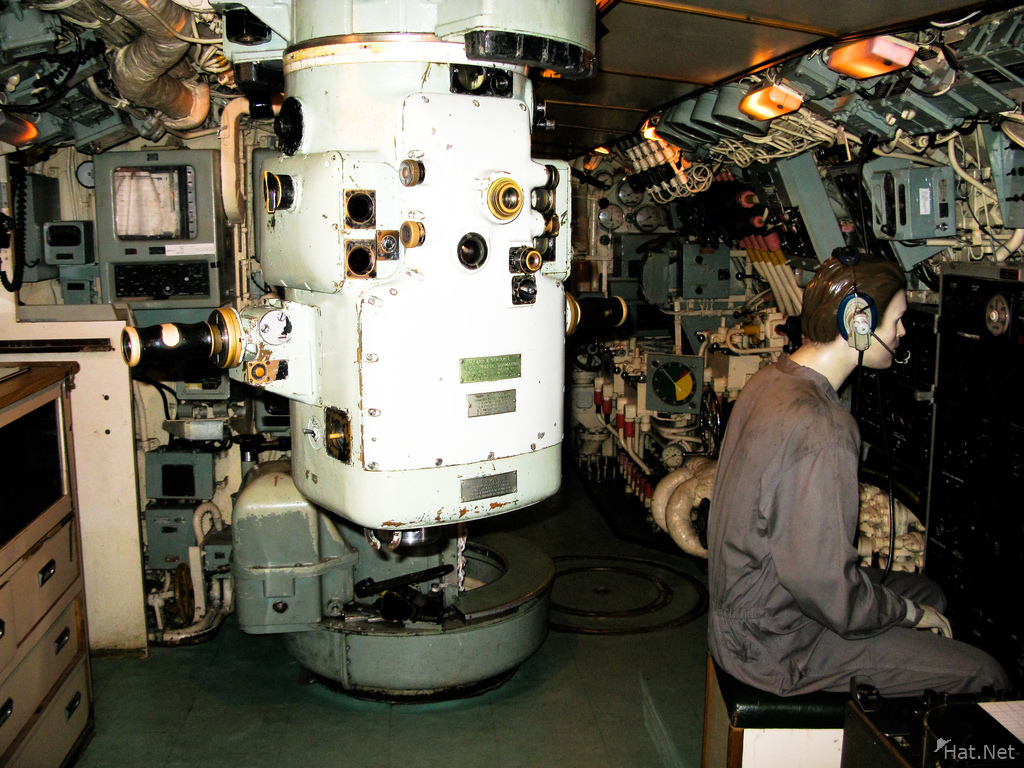 submarine command center