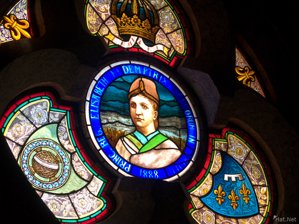 princess isabel stained glass