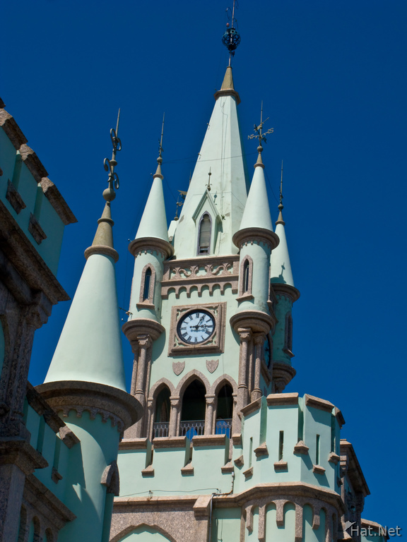 fiscal palace clock tower