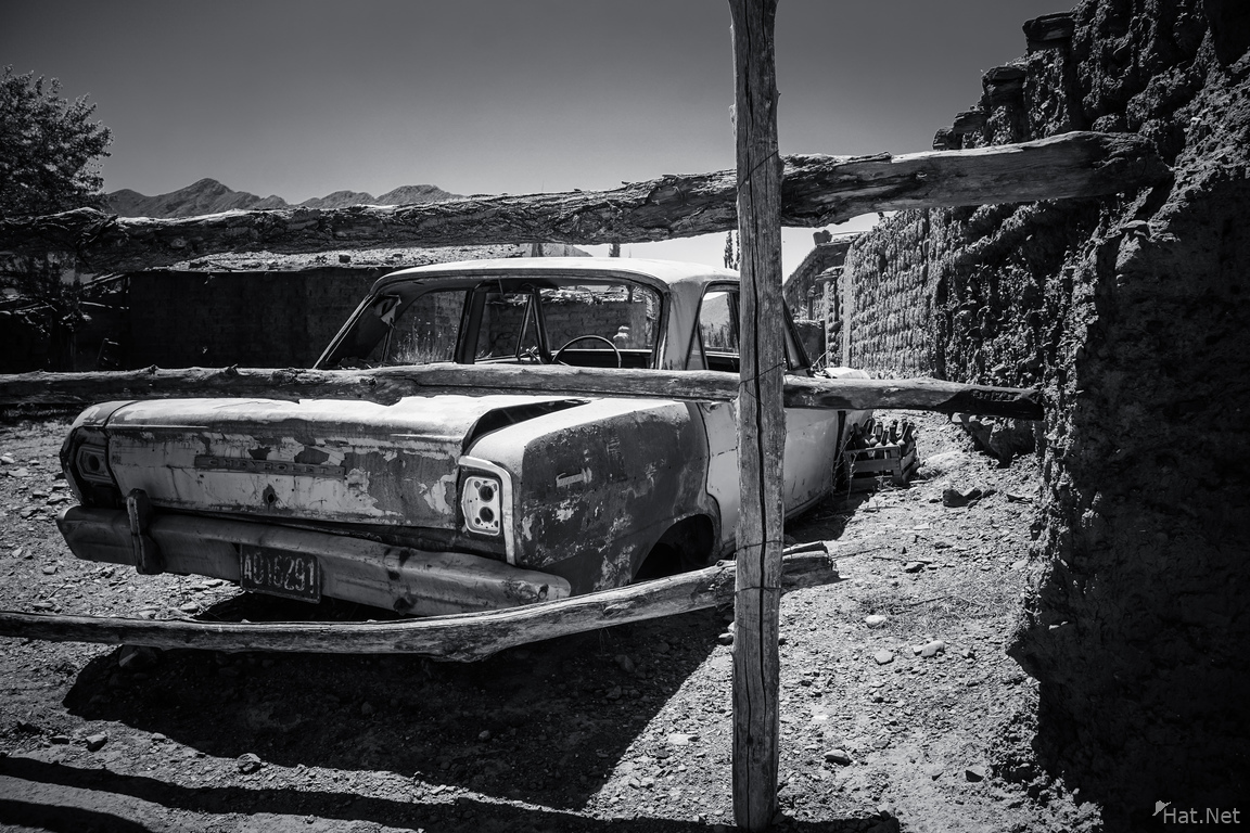 old beater at Cachi