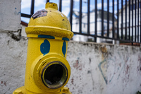 Hydrant with eyes Alemania - Camila / Norte,  Valparaíso,  Región de Valparaíso,  Chile, South America