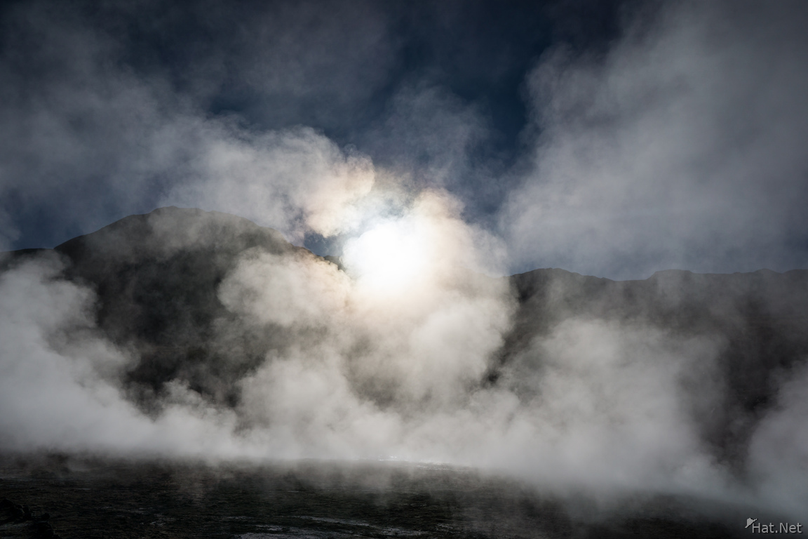 Geyser Tatio Misty Morning