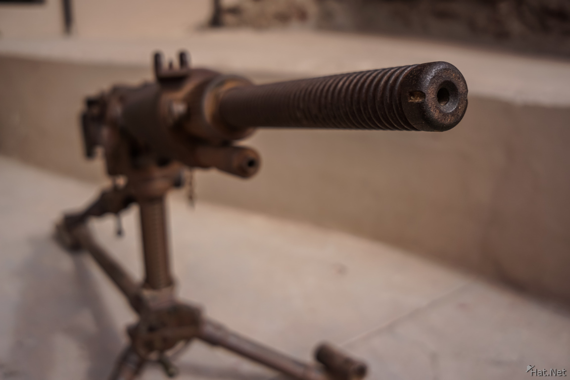 Machine gun of Arica