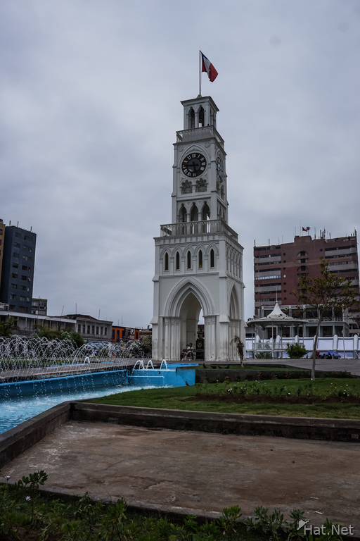 Clock tower of Iquique