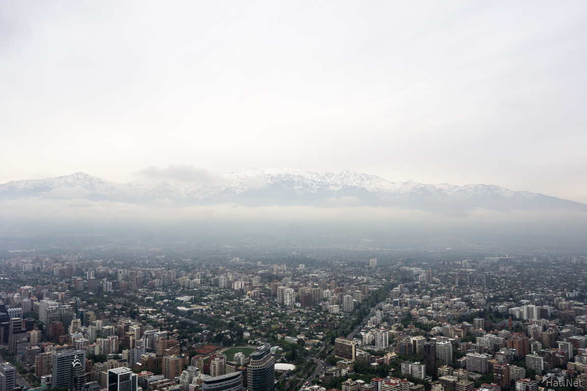 Santiago from Gran Torre
