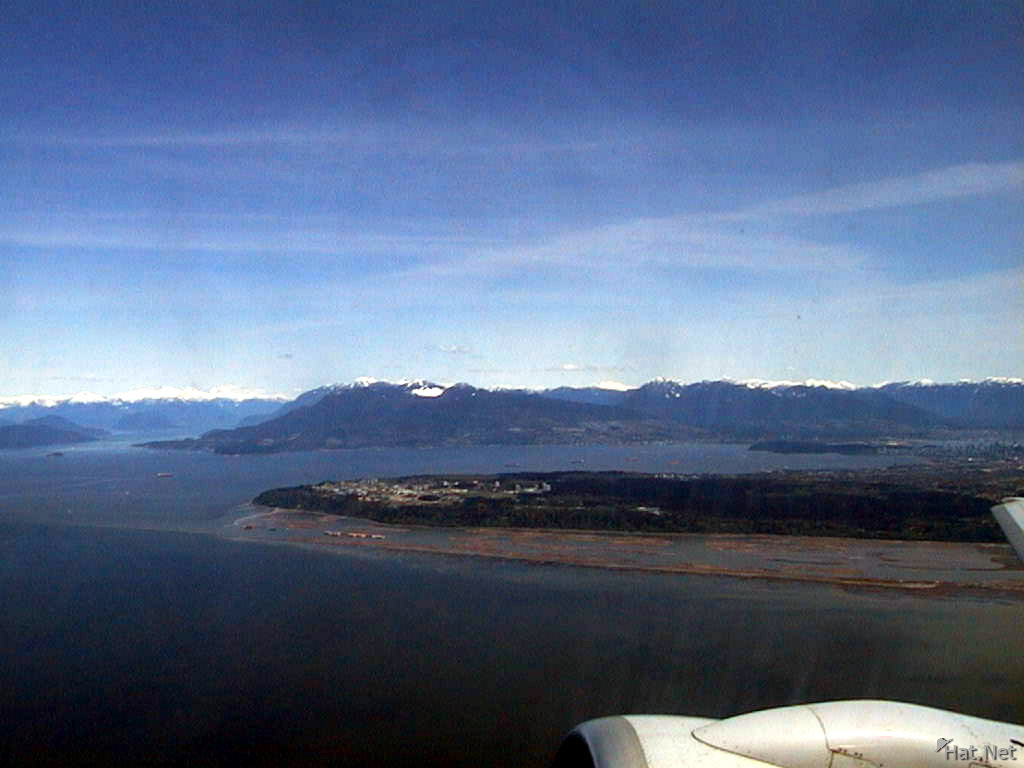 take off from vancouver