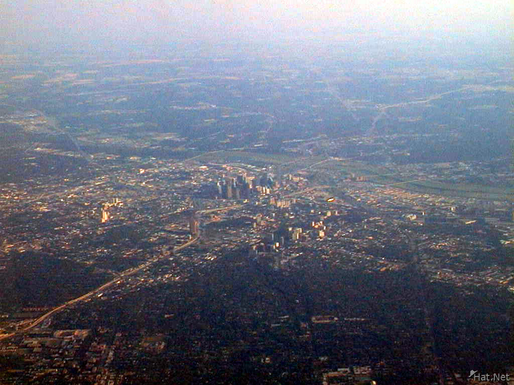 dallas from the air
