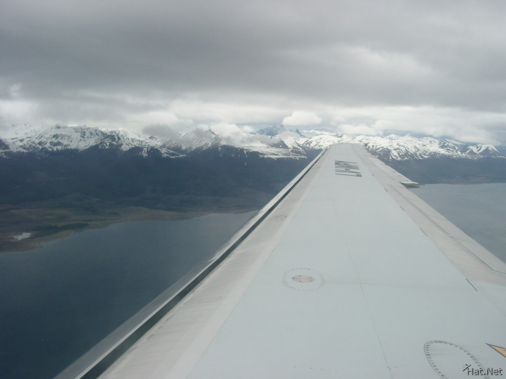 white mountains near ushuaia