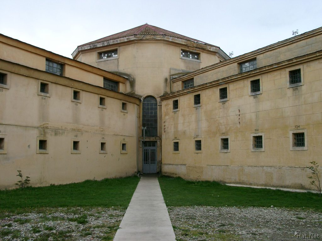 the wings of the prison