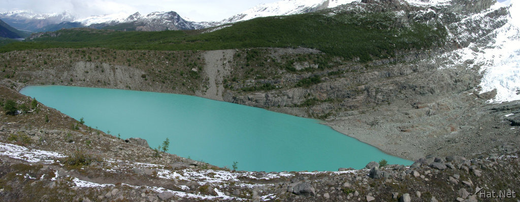 the glacier lake